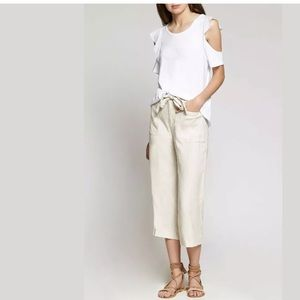 NWT💙 SANCTUARY Sasha Wide Relaxed Crop Linen Pant